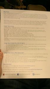 Google Fiber Handout page 2